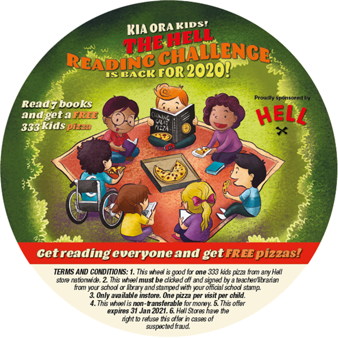 The HELL Reading Challenge Upper Hutt Libraries